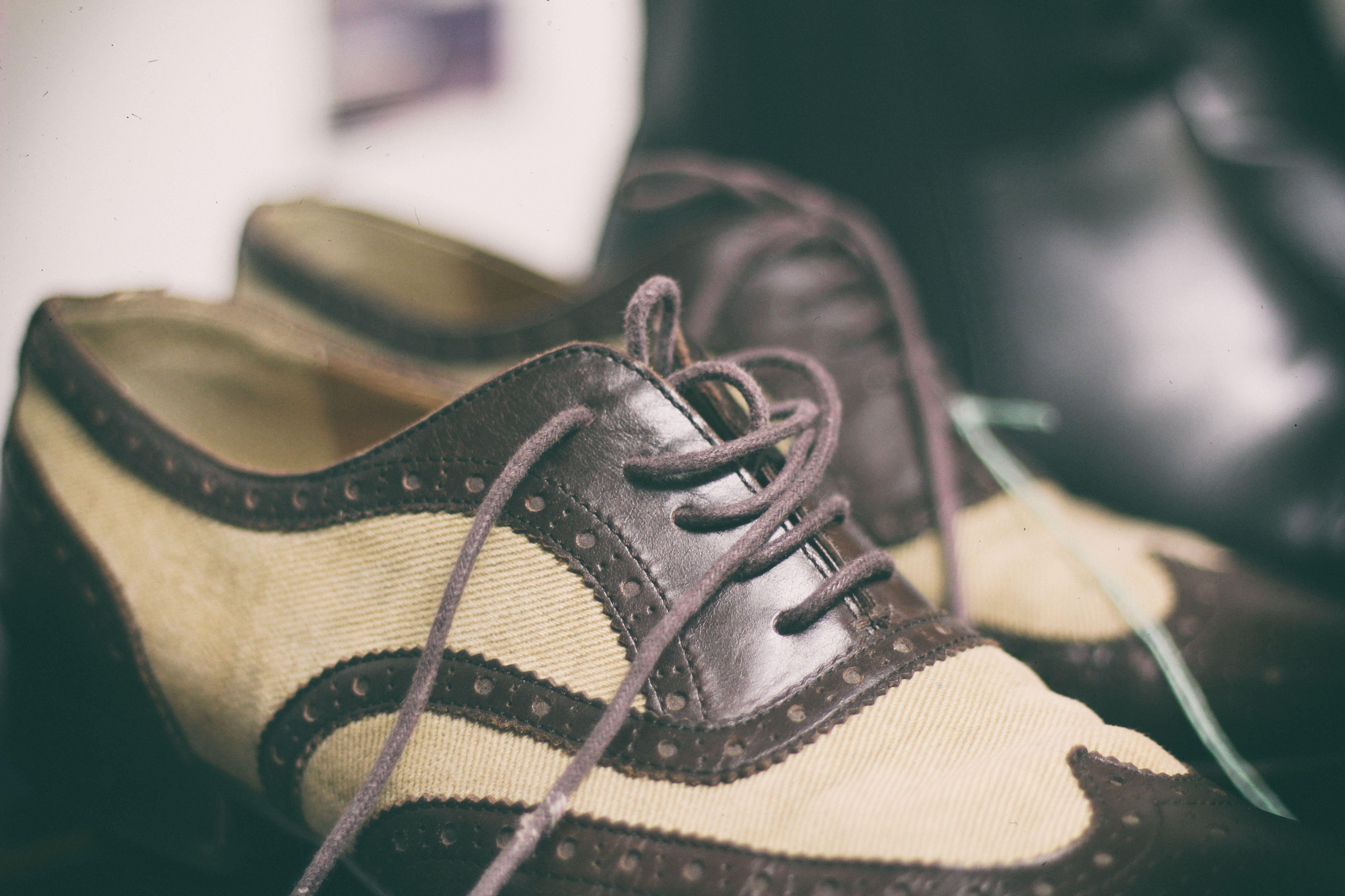 Skor är också mode!